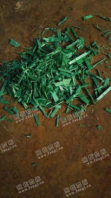 江西景德镇出售PET绿色打包带破碎料