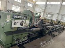 天津河东地区出售1台德州61125*8米车床